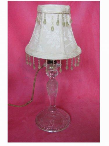 Vintage (1938) - Boudoir Glass Table Lamp