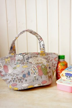 Free Shipping Japanese Kawaii Insulated Lunch Bag - Forest Life