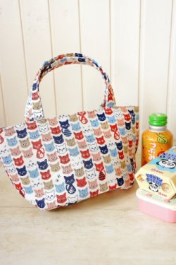 Free Shipping Japanese Kawaii Insulated Lunch Bag - little cats