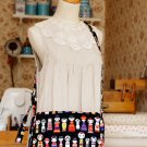 Free Shipping Japanese Kawaii Shoulder Messenger Bag - Kokeshi Doll
