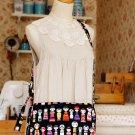 Free Shipping Japanese Kawaii Shoulder Messenger Bag - Kokeshi Doll