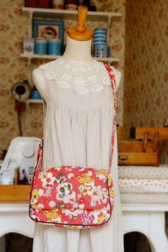 Free Shipping Japanese Kawaii Shoulder Messenger Bag - Vintage Toys