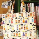 Free Shipping Japanese Kawaii Handmade ECO-Friendly Shopping Bag Tote - Kokeshi Doll