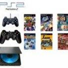 "Slim Sony Playstation 2 ""Basic Bundle"" - 30 Games"