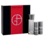 Armani Mania by Giorgio Armani - Gift Set 3 Pc for Men