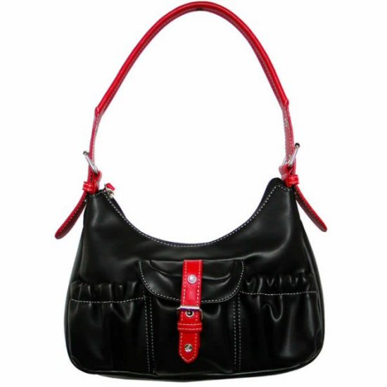 Shoulder Bags,Single Strap Handbags with Front Buckled Pocket