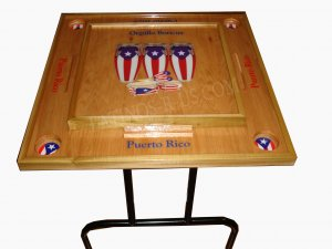 Puerto Rico Congas Domino table