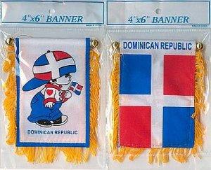 DOMINICAN REPUBLIC BOY MINI BANNER