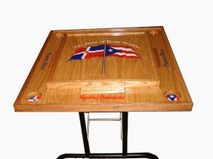 Puerto Rico & Dominican Republic Domino table