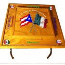 Puerto Rico & Mexico Domino Table