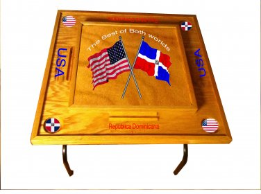 Dominican Republic & UAS Domino Table