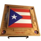 Puerto Rico Domino Table with the Flag Full Top