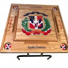 Dominican Republic Domino table With the escudo