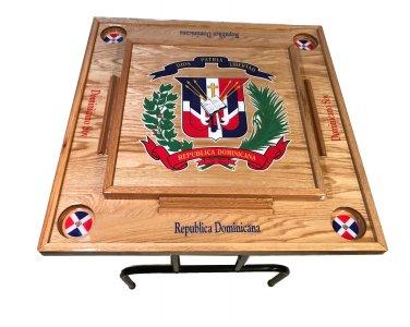 Dominican Republic Domino table With the escudo