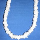 """WHITE PUKA SHELL BEADS SURF STYLE JEWELRY 18"""" NECKLACE"""
