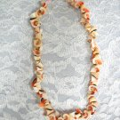 REAL SWIRL SHELL CUT OUT PUKA STYLE SHELLS BEADS SURF NECKLACE