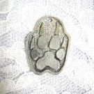 NEW SPIRIT WOLF CLAW / WOLF PAW PRINTS PEWTER PENDANT ON ADJ NECKLACE WOLVES
