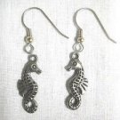 BY THE SEA 3D DOUBLE SIDED FUN DETAILED OCEAN REEF SEA HORSE CHARMS DANGLING EARRINGS