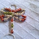 Dragon fly key chain