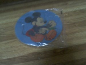 Mickey Plaque