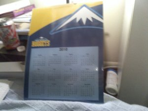 Denver Nuggets Calender