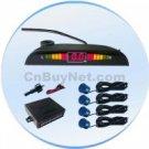 Car Reverse Parking Radar Detector + Led Display + 4 Sensor