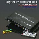 ATSC Car digital TV tuner receiver Box for USA and USA standard market
