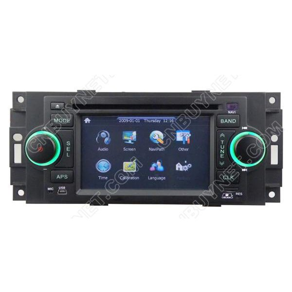 CHRYSLER Aspen Navigation GPS DVD player, Radio
