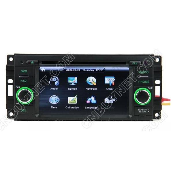CHRYSLER Aspen Navigation GPS DVD player,Radio