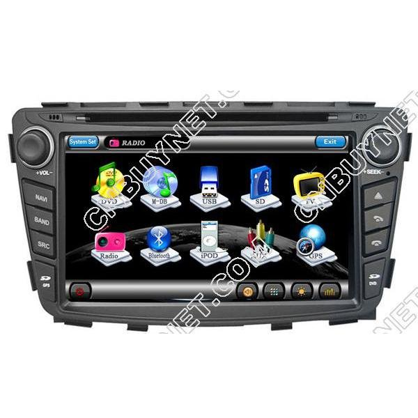 Hyundai Solaris DVD GPS Player Navigation, Radio, Ipod, RDS, CDC