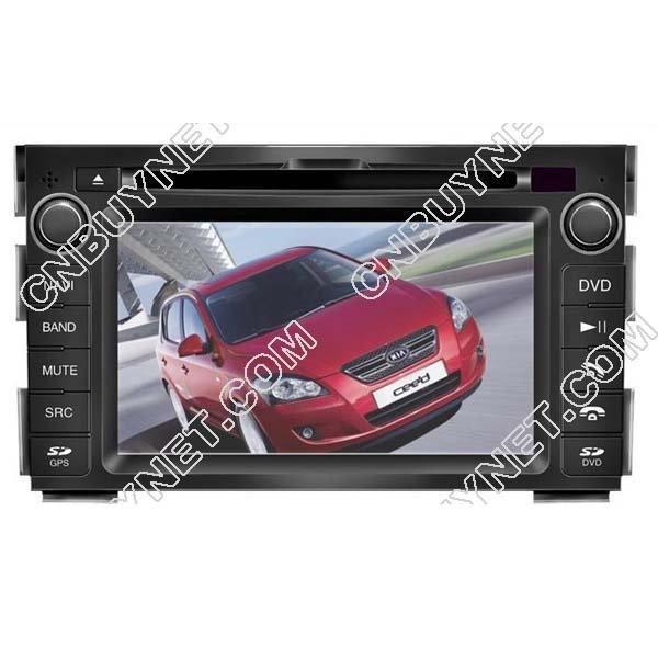 2010- 2011 Kia Ceed GPS Navigation DVD, Radio, TV, Audio Player