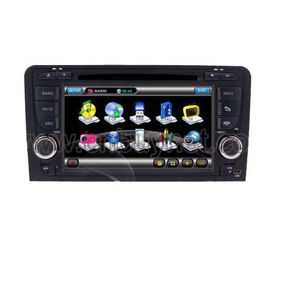 Audi A3 2003-2010 GPS Navi Vedio Player with Radio,TV, Ipod