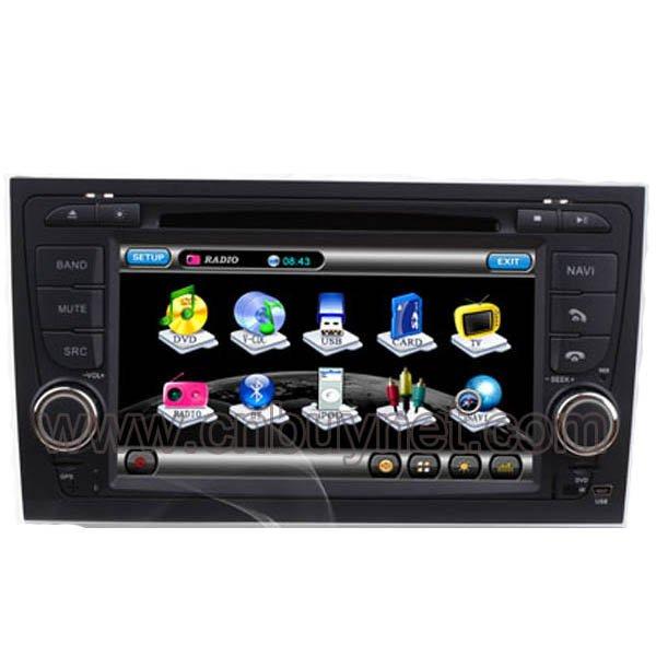 Audi A4 2002-2008 GPS Navi Vedio Player with Radio,TV, Ipod
