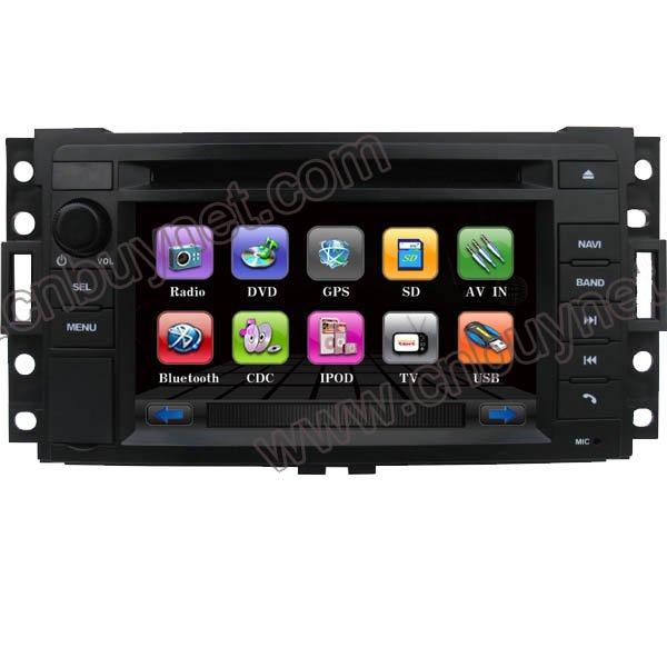 Buick GL8 GPS Navigation DVD Player, Radio, Ipod