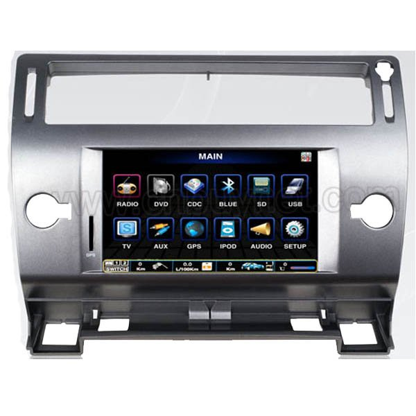 Citroen C4 Navigation GPS Video DVD Player,Radio,Ipod, Bluetooth