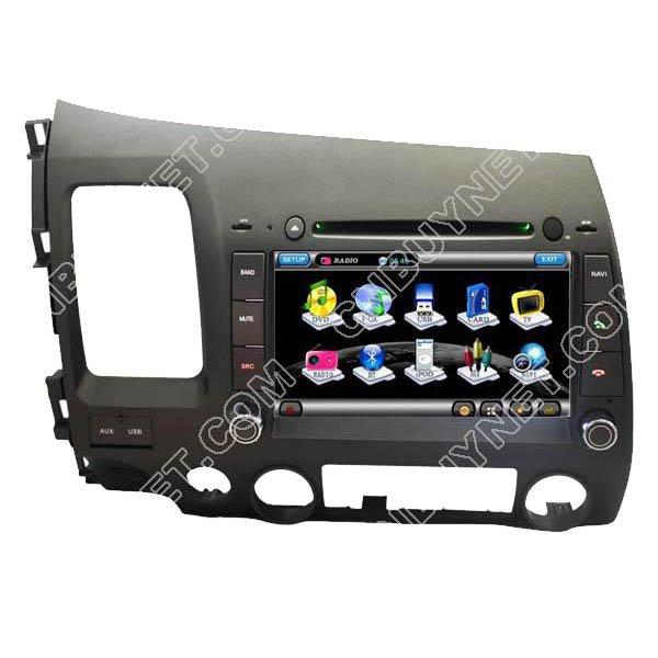 Honda Civic 2006 - 2011 GPS Navigation DVD Player, TV