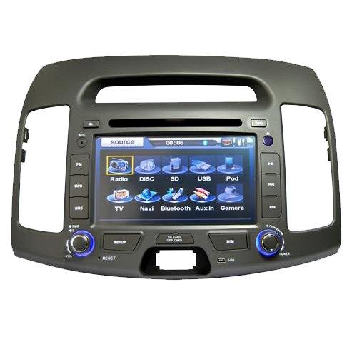 2007 - 2010 Hyundai Elantra GPS DVD Player Navigation Radio, TV
