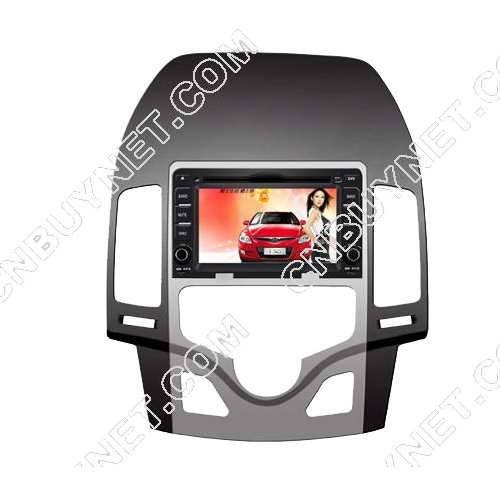 Hyundai I30 DVD GPS player with Touchscreen and iPod BT Control