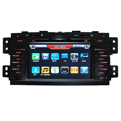KIA Borrego GPS DVD Players with Digital Touchscreen