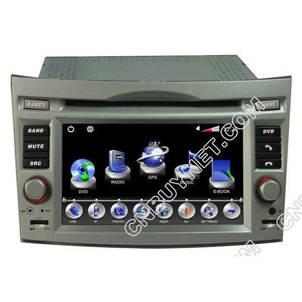 2009- 2011 Subaru Outback GPS DVD player with Navigation iPod