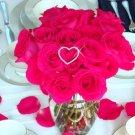 Bouquet Crystal Heart - Centerpiece BQ-222