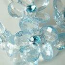Lt Blue Flower Bouquet Jewels