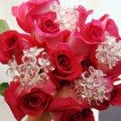 Crystal Bouquet Jewelry Flower Cluster BQ 284 Bunch