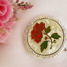 Beautiful Rose Compact Mirror 83622