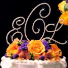 Monogram Wedding Cake Top Set