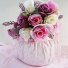 Pink Bridal Flower Girl Basket FB 3