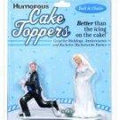 Humorous cake topper - ball & chain