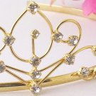 Gold with Clear Stones Childs Tiara HPC-42861