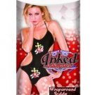 Inked intimates wraparound teddy black o/s