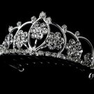 Silver and Clear Crystal Child's Tiara HPC 400